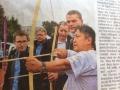 Mit Sachen-Anhalts Innenminister Holger Stahlknecht-Artikel aus der Mitteldeuschen Zeitung vom 16.9 2014